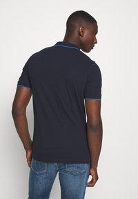 Calvin Klein - TIPPING SLIM - Poloshirts - blue - 2