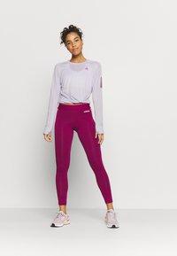 adidas Performance - SPORTS RUNNING LONG SLEEVE - Funkční triko - purple - 1