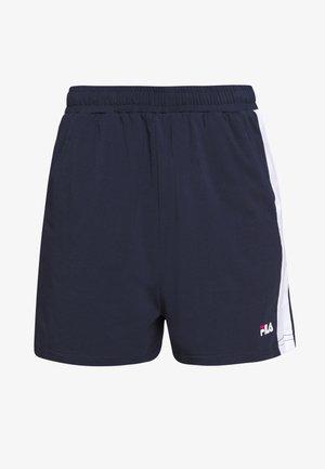 BADU - Shorts - black iris/bright white