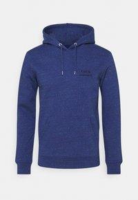 Les Petits Basics - HOODIE CAFÉ & CROISSANT UNISEX - Sweatshirt - mid heather blue - 0