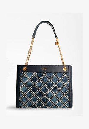 Handbag - mehrfarbig, grundton blau