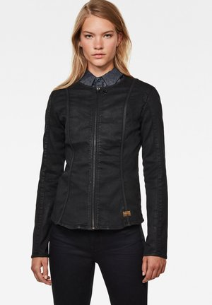LYNN TYPE 30 - Denim jacket - dk black cobler