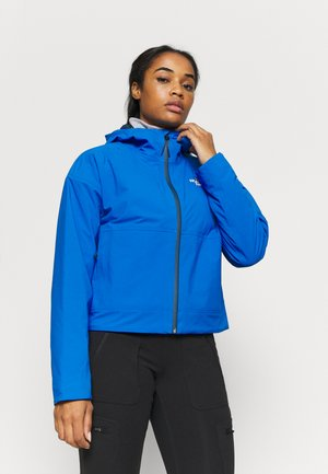W FL INSULATED JACKET - Hardshell jacket - blue