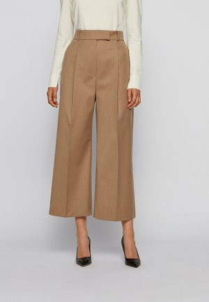 TAYAMANA - Trousers - light brown