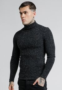 SIKSILK - ROLL NECK JUMPER - Maglione - black - 0