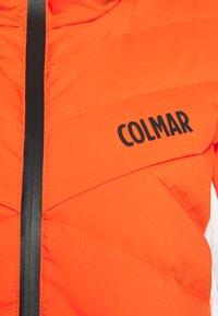 Colmar - JACKET - Kurtka narciarska - lobster/white/black - 2