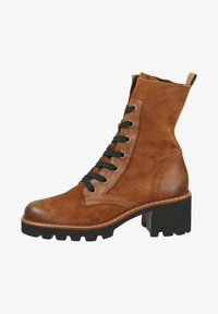Paul Green - Lace-up ankle boots - cognac-braun 007 - 1