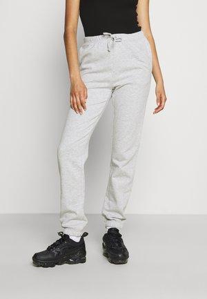 VIRUST PANT - Tracksuit bottoms - light grey melange