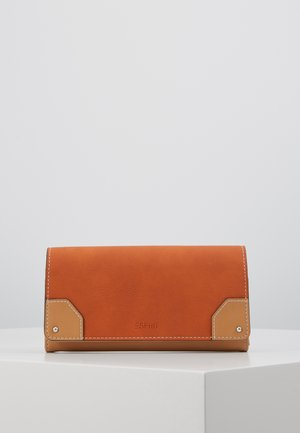 Portefeuille - burnt orange