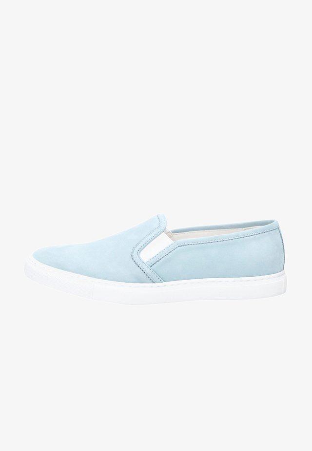 NO. 22 WS - Mocassins - light blue
