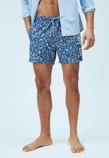 Swimming shorts - azul marino