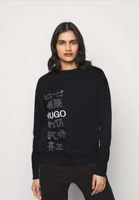 HUGO - NAKIRA - Mikina - black - 0