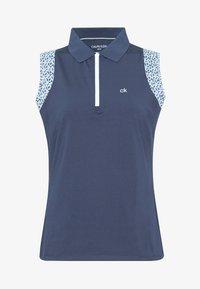 Calvin Klein Golf - ALAMERE SLEEVELESS - Poloshirts - navy - 4
