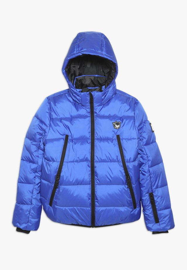 BASIC SHINY BOYS SKI JACKET - Laskettelutakki - yves blue