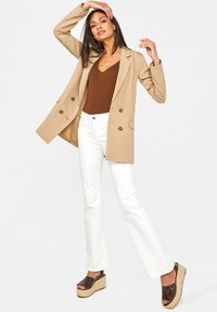 WE Fashion - Blazere - beige - 1