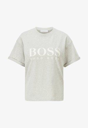 C_EVINA_ACTIVE - Print T-shirt - silver