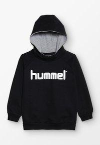 Hummel - LOGO HOODIE UNISEX - Hoodie - black - 0