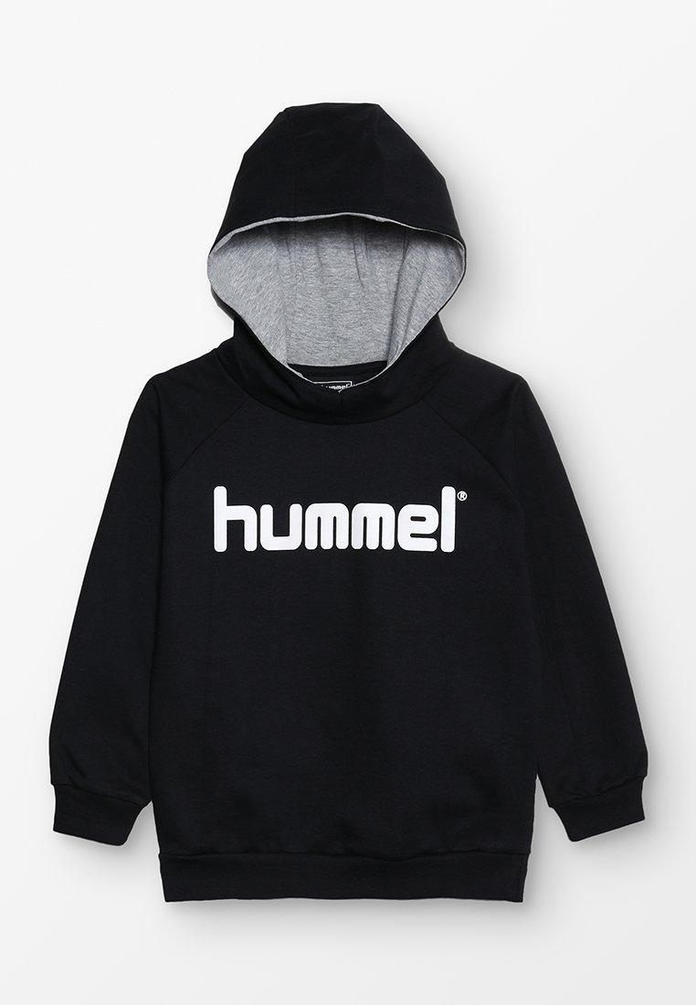 Hummel - LOGO HOODIE UNISEX - Hoodie - black