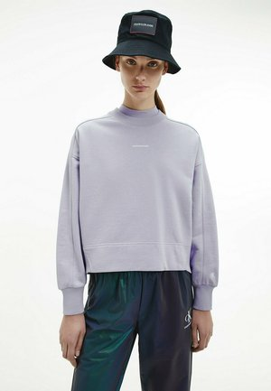 Sweatshirt - palma lilac