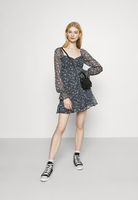 Hollister Co. - SHORT DRESS - Kjole - dark blue - 1