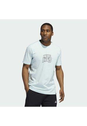 Print T-shirt - halo mint