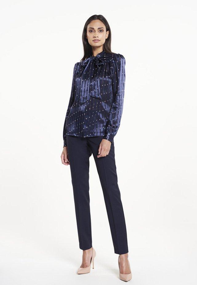 SASCHA - Button-down blouse - navy