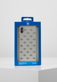 adidas Originals - SNAP CASE ENTRY FOR IPHONE X/XS - Etui na telefon - gold-colored - 5