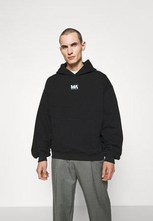 CROPPED HOODIE - Sweatshirt - black