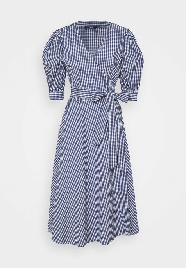 HEAVY WEIGHT - Denní šaty - blue/white