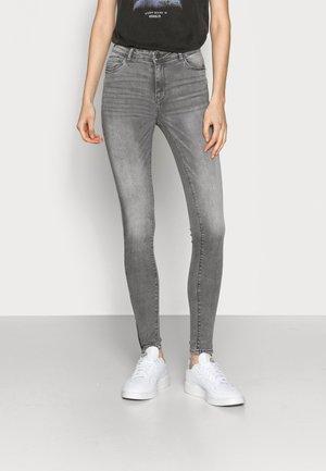 NMKIMMY - Jeans Skinny Fit - light grey denim