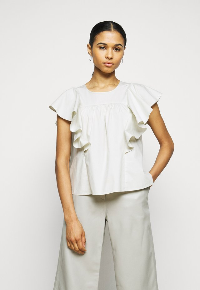 LEONID THINKTWICE - Blouse - silver birch