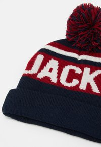 Jack & Jones Junior - JACCAMERON TASSLE BEANIE UNISEX - Čepice - navy blazer - 2