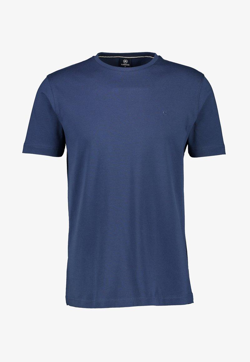 LERROS - MIT RUNDHALSAUSSCHNITT  - Basic T-shirt - blue