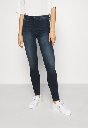 SYLVIA HR SUPER SKNY JDBST - Jeans Skinny Fit - jade dark blue