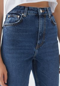 PULL&BEAR - Jean slim - stone blue denim - 1