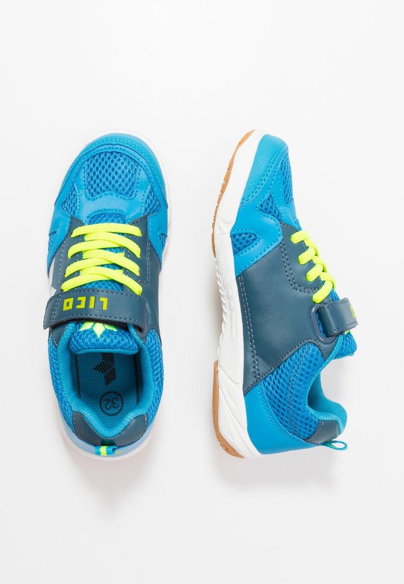 LICO - SPORT - Sneaker low - blau/marine/lemon