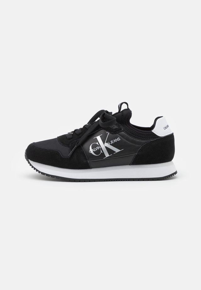 RUNNER SOCK LACEUP  - Trainers - black