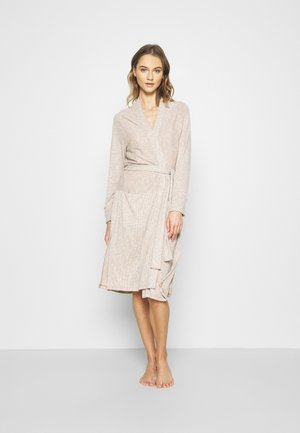 SOFTSPUN ROBE - Dressing gown - oatmeal