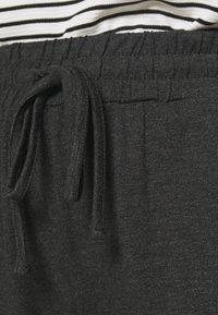 Kaffe - LINDA  - Tracksuit bottoms - dark grey melange - 4