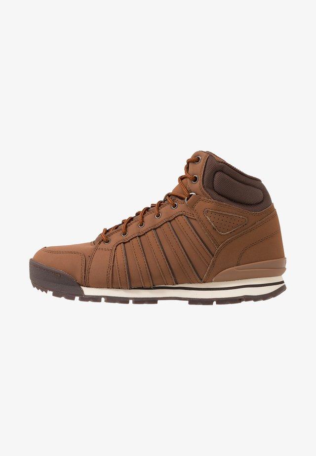 NORFOLK - High-top trainers - barrel brown/chocolate