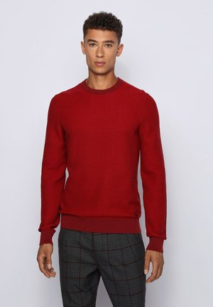 ARUBYNO - Strickpullover - red