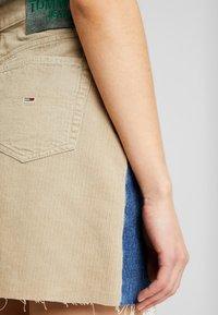 Tommy Jeans - SHORT SKIRT - Miniskjørt - blue denim - 5