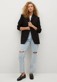 Mango - Relaxed fit jeans - light blue - 1