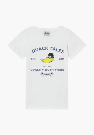 QUACK TALES - T-shirts med print - weiß