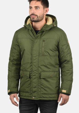 Winter jacket - dark olive