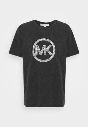 WASH - T-Shirt print - black