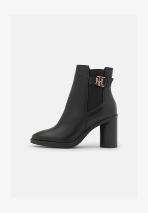 MONOGRAM HARDWARE BOOT - Classic ankle boots - black