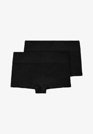 2ER-PACK - Onderbroeken - black