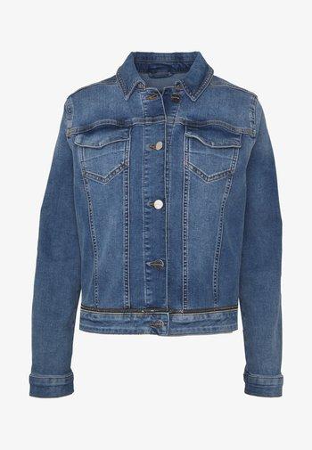 JACKET - Denim jacket - blue denim stretch