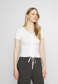 Trendyol - Print T-shirt - white - 0
